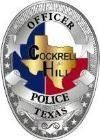 Officer Cockrell Hill Police Texas Badge